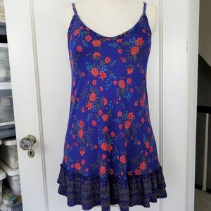 Printed Knit Tunic Top